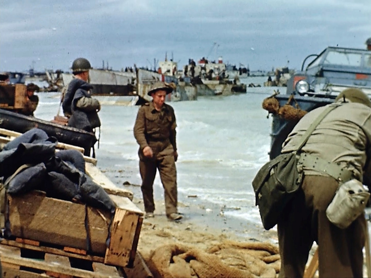 Rare Color Footage Brings D Day Memories Alive 75 Years On