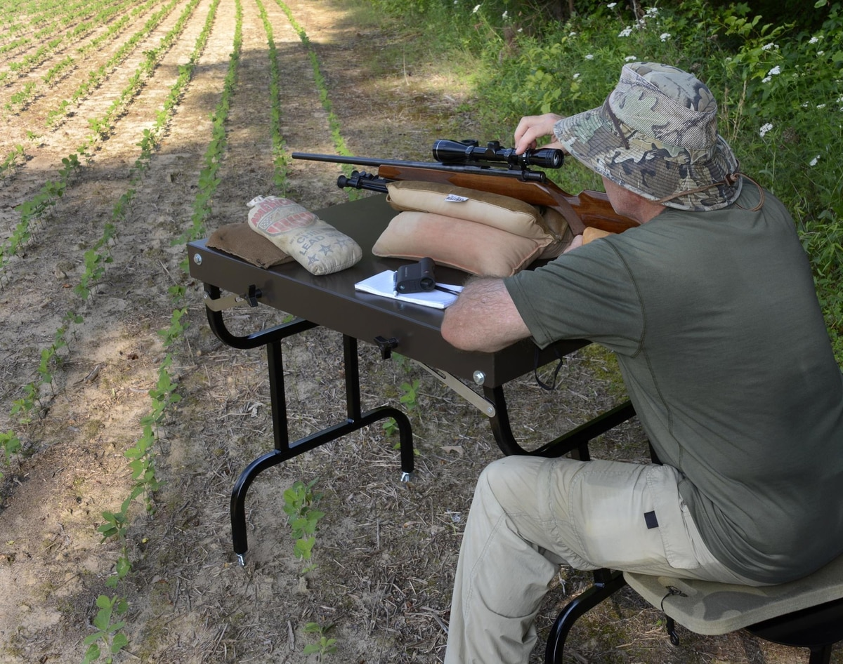 Rifle Rest Test Packable And Strong 2 Benchrest Values