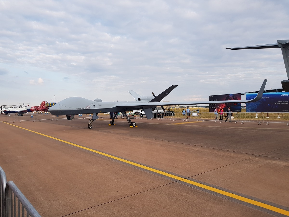 Gamechanger Aerial Drone Arrives In Uk After Mammoth 24
