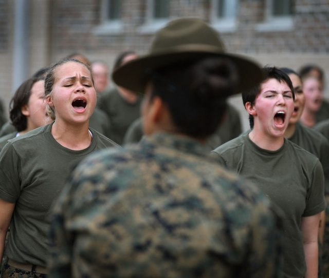 Gender Integration At Both Marine Corps Recruit Depots Would Be