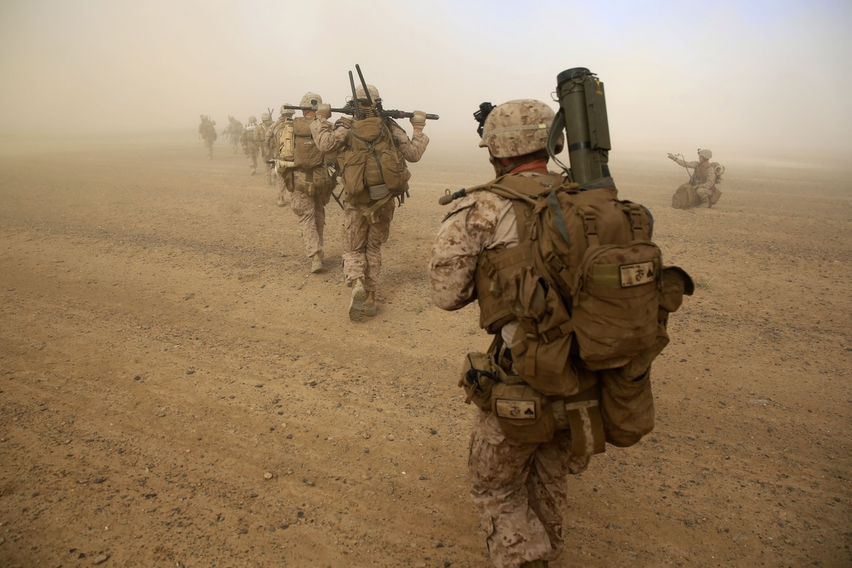Marines Headed To Southern Afghanistan Where Taliban Are