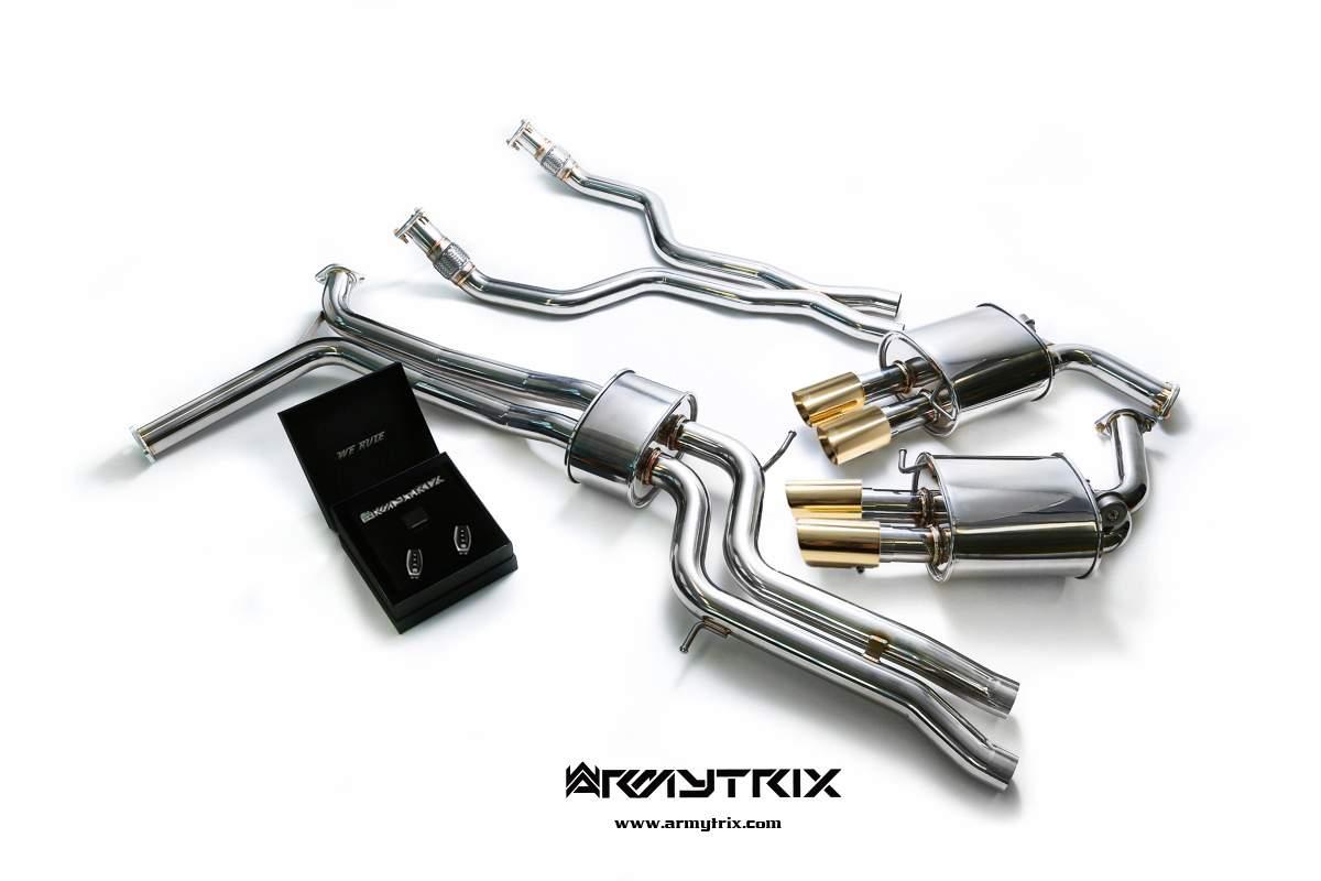 audi a7 c7 armytrix exhaust mods best