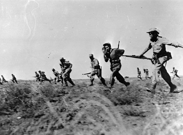 Πόλεμος - Ανεξαρτησία Ισραήλ, 15 Μαΐου