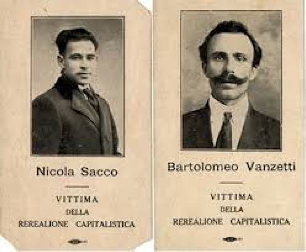 Nicola Sacco-Bartolomeo Vazetti, 14 Ιουλίου