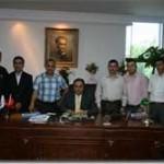 Arnavutköy Spor Yöneticleri Kaymakam Makamında
