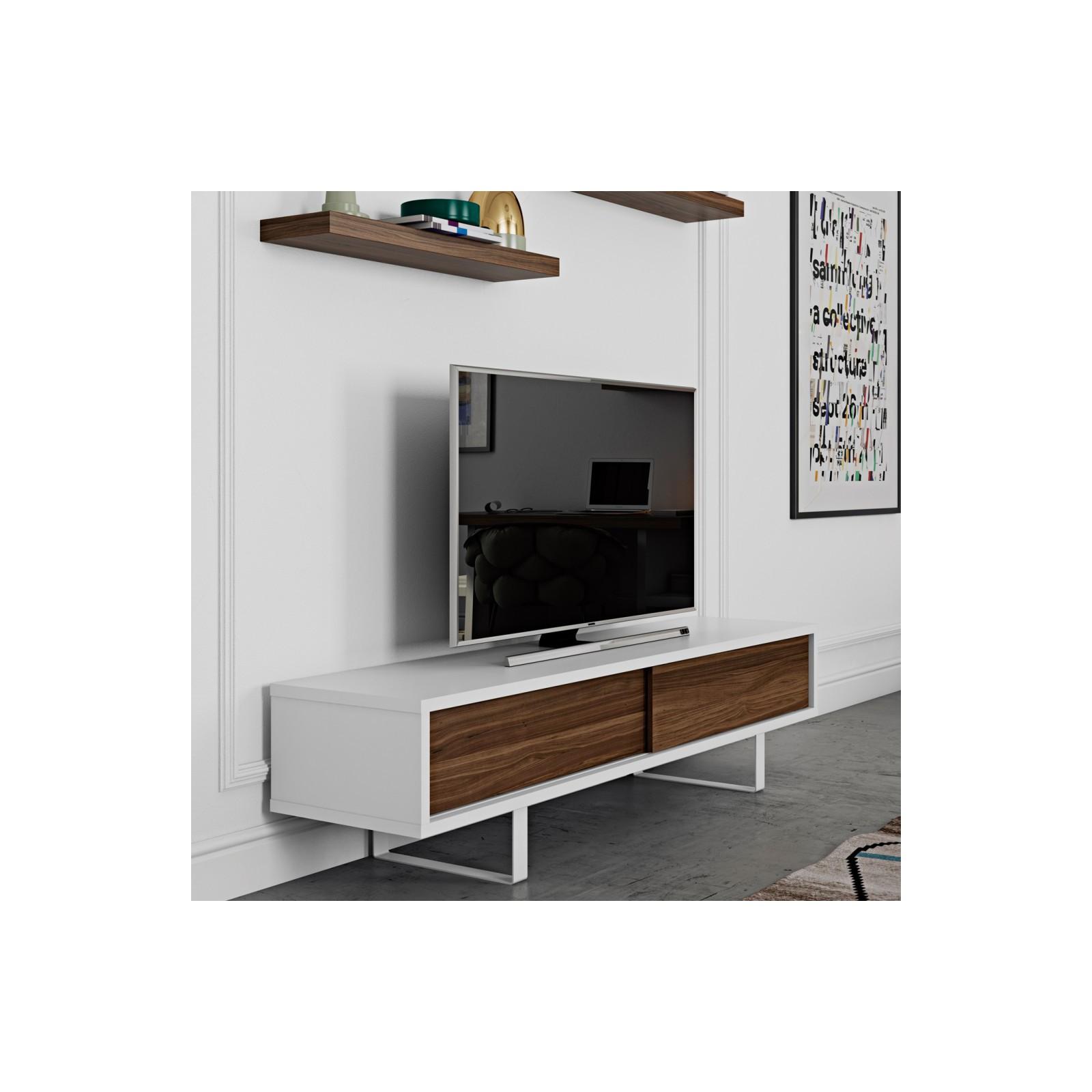 meuble tv fin havane