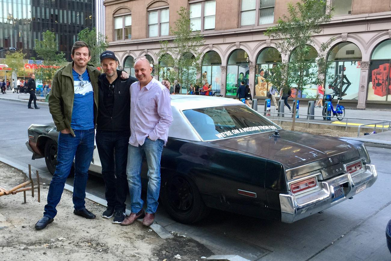 The Bluesmobile Arnes Antics