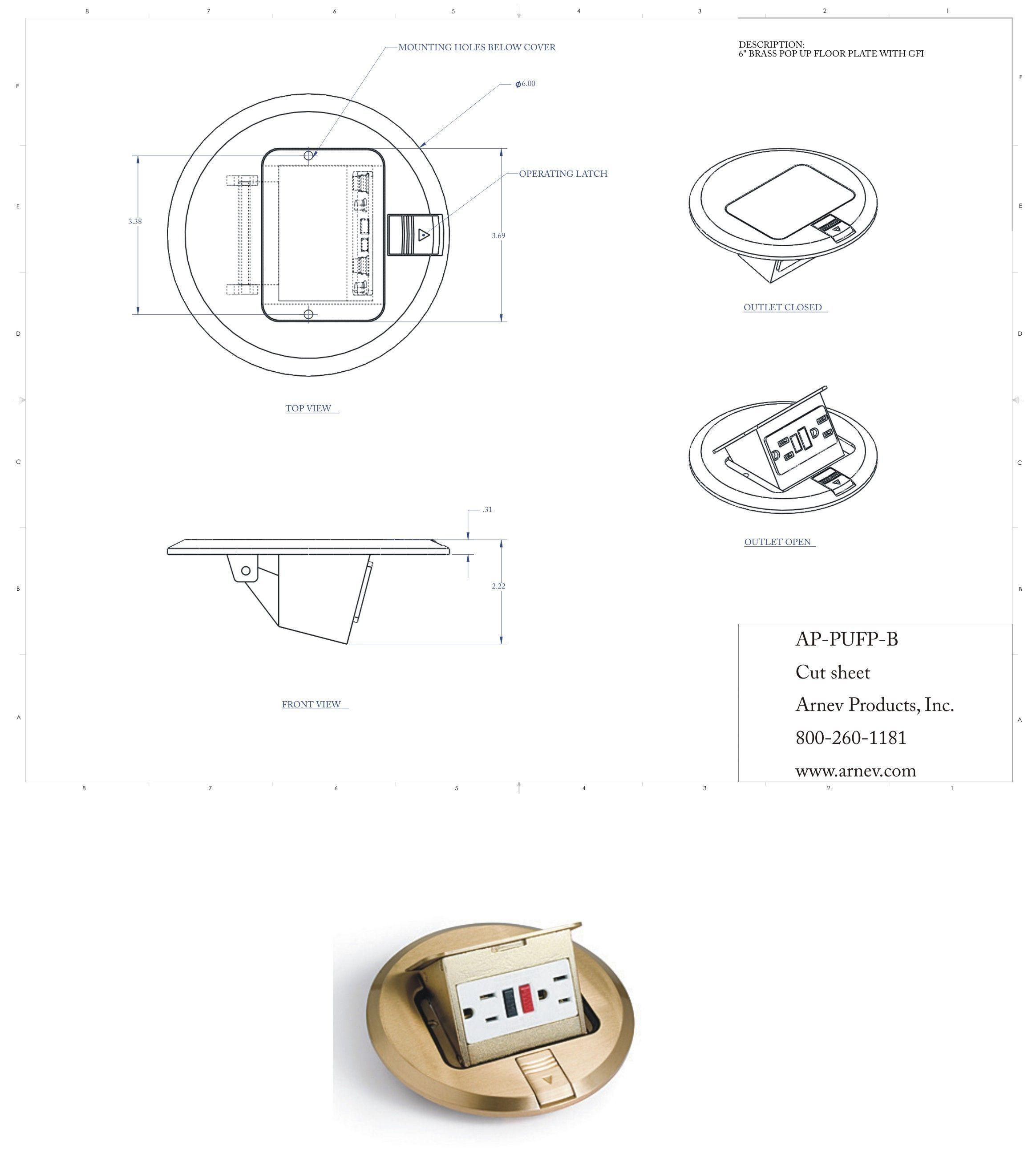 Round Floor Boxes