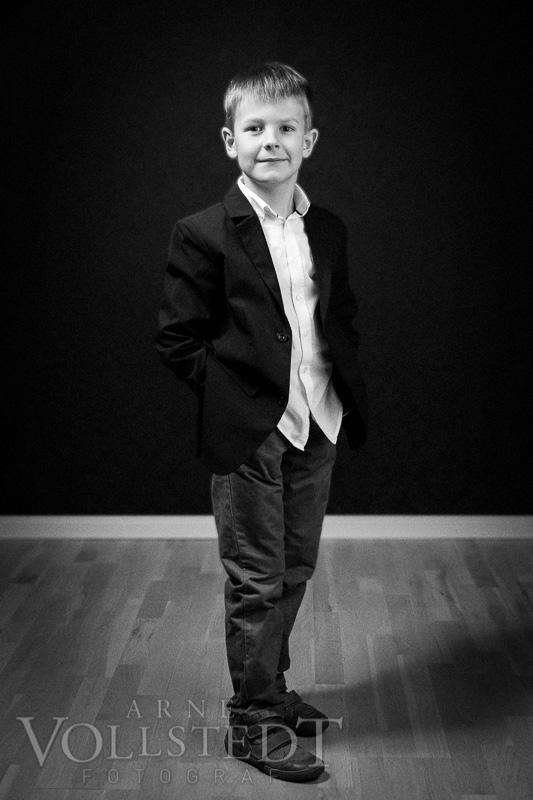 Bjarne im Portraitstudio