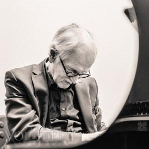 Herbert Bruhn am Konzertflügel