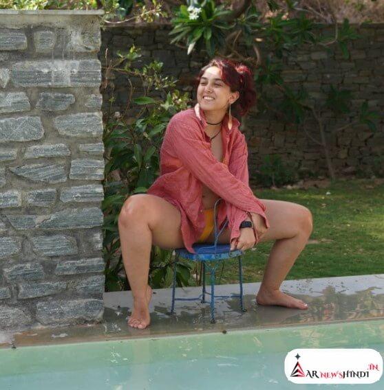 आइरा खान ने गुलाबी शर्ट में अपने इंस्टाग्राम हैंडल पर शेयर की तस्वीरें