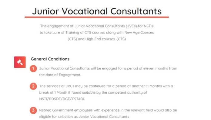 Job Sarkari: NIMI Consultant Recruitment 2021
