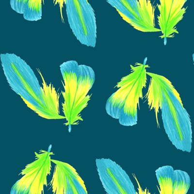 Feather surface pattern designs