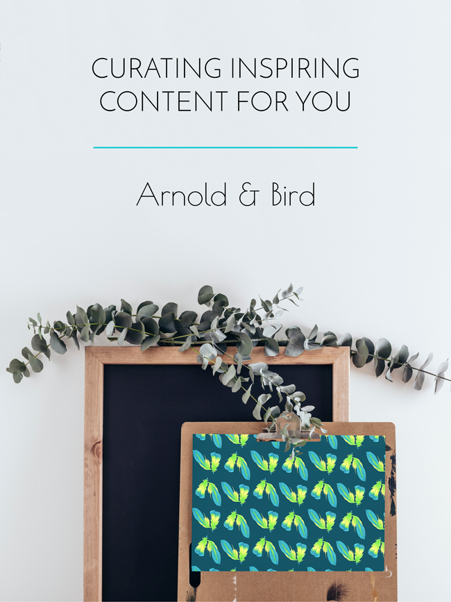 Curating inspiring content for you
