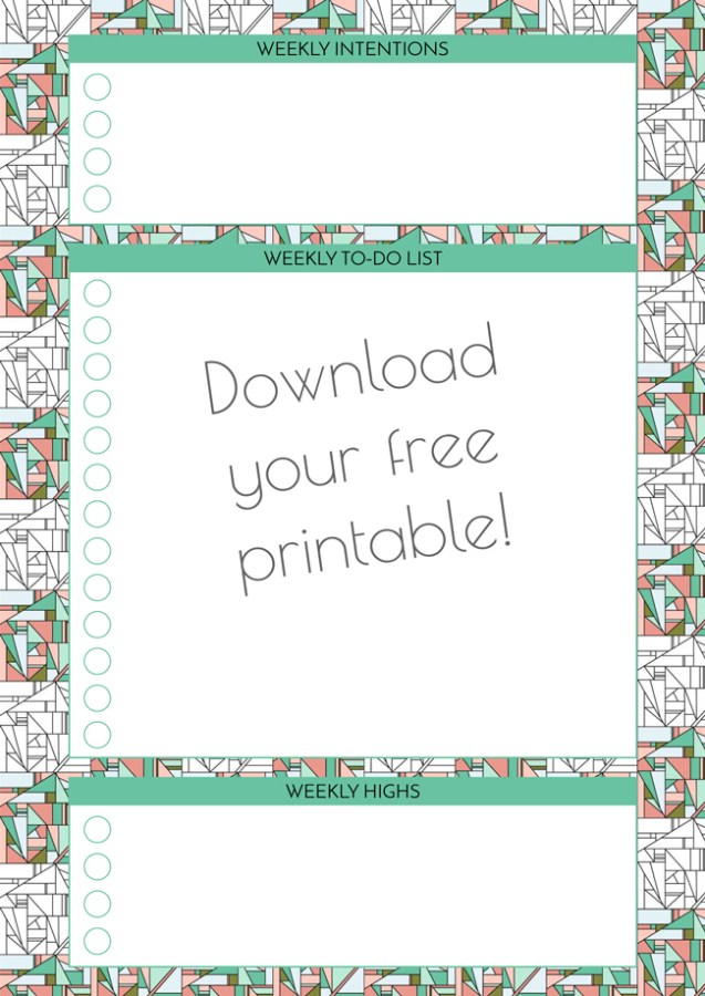 Grab your free printable to-do list from Arnold & Bird