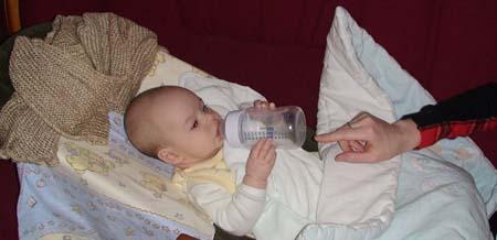 Adas z butelka