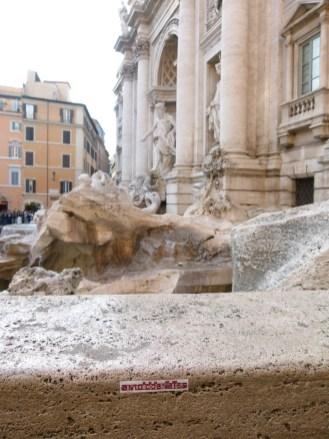rom-trevi brunnen