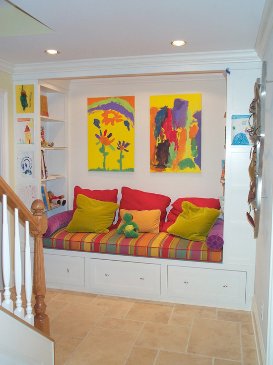 Kid S Basement Space Reading Nook (Atlanta)