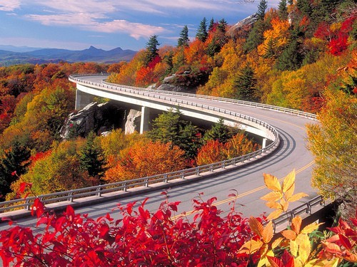 Autumn, Blue Ridge Parkway, Asheville, North Carolina