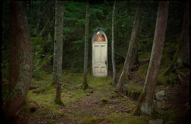 Mystical Forest Door, Minnesota