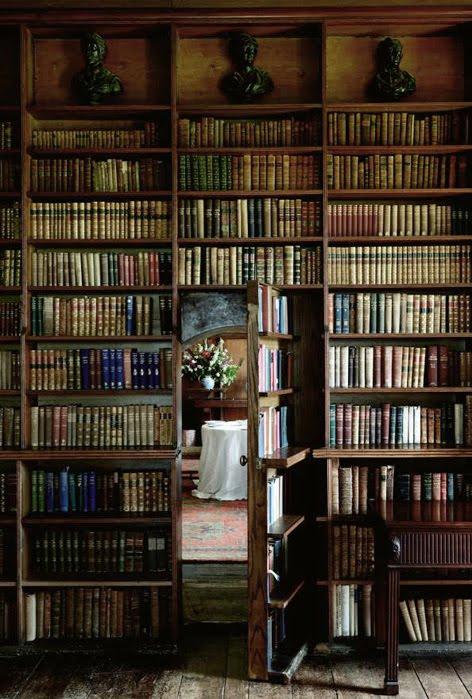 Secret Bookcase Room, New Hampshire