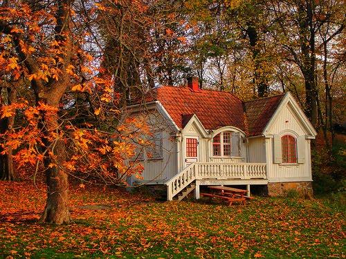Autumn Cottage, Gothenburg, Sweden