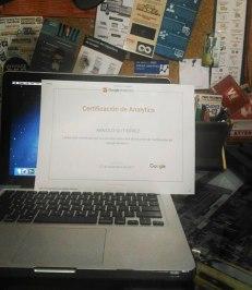arnold gutierrez certificacion google analytics