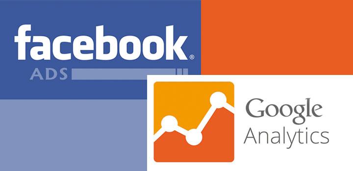 objetivos google analytics para facebook ads
