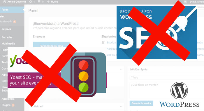 wordpress optimizar sin seo plguins