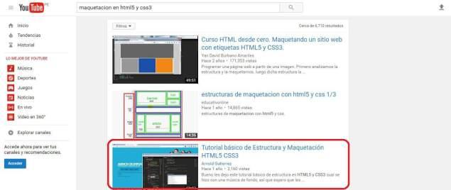 posicionamiento busquedas videos youtube