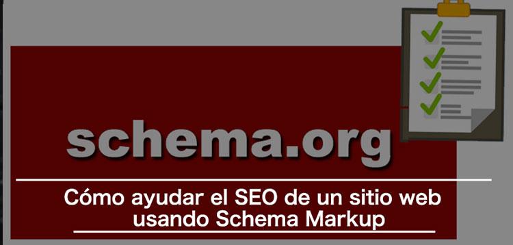 schema markup ayudar seo