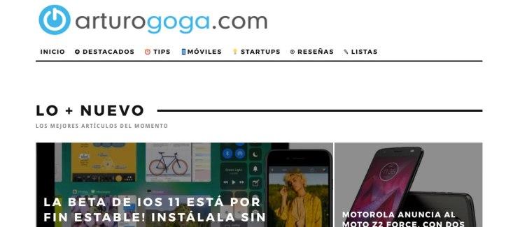 arturo goga blog tecnologia