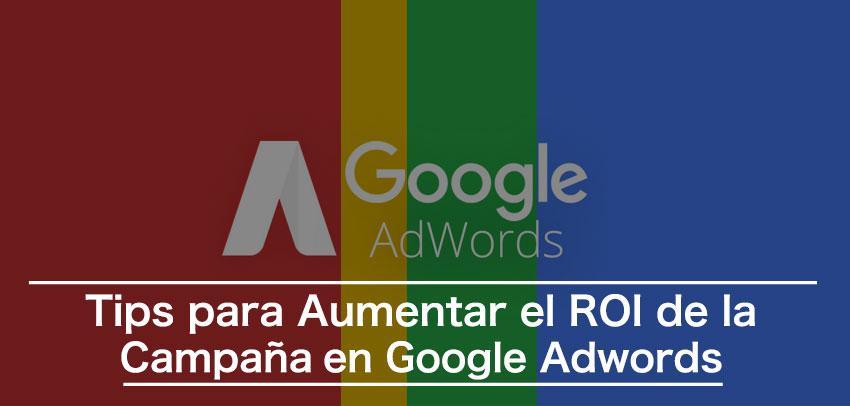 aumentar roi google adwords