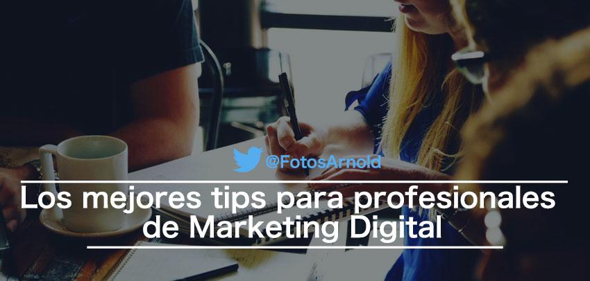 tips para profesionales marketing digital