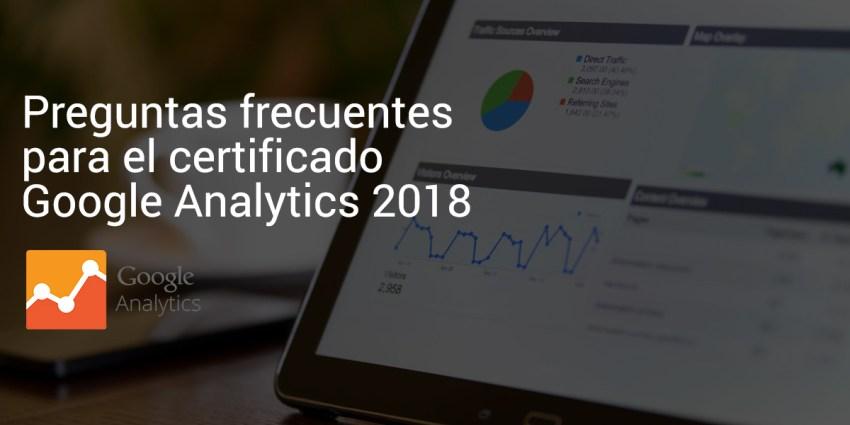preguntas certificado google analytics 2018