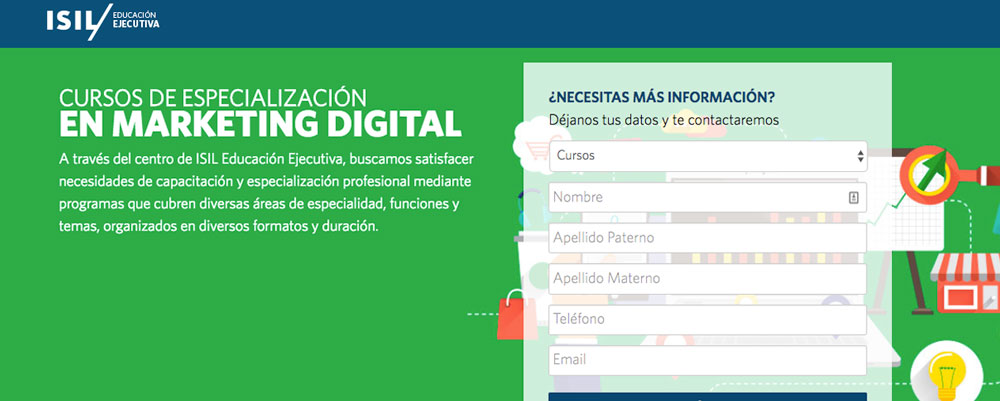 curso especializacion marketing digital isil peru