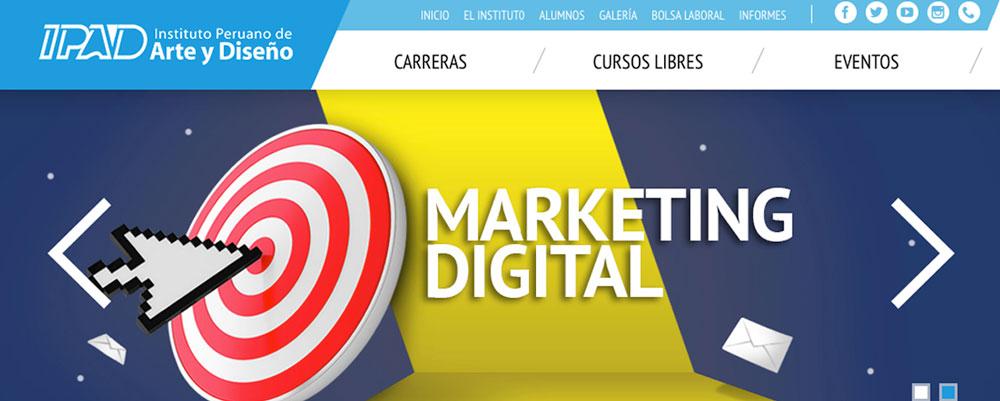 curso marketing digital ipad peru