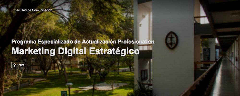 estudiar marketing digital estrategico piura peru