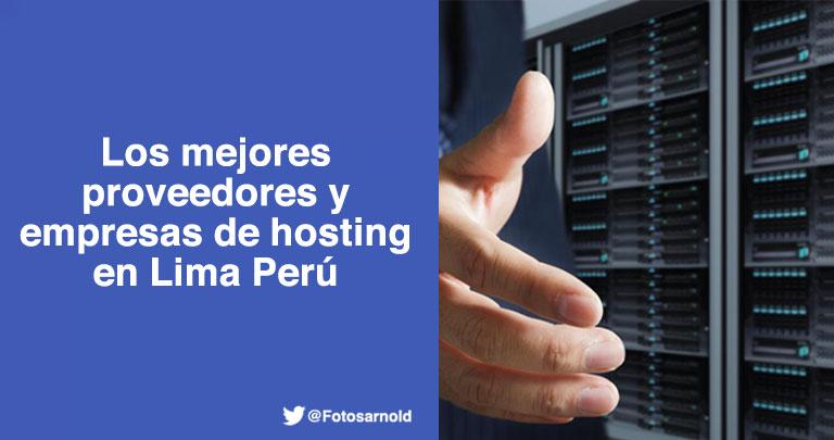 proveedores empresas hosting lima peru