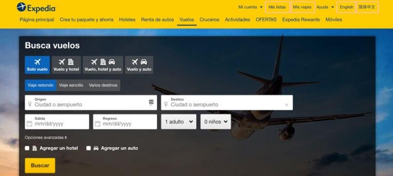 pasajes aereos-baratos expedia.com