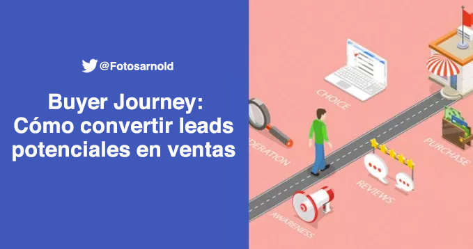 buyer journey convertir leads ventas