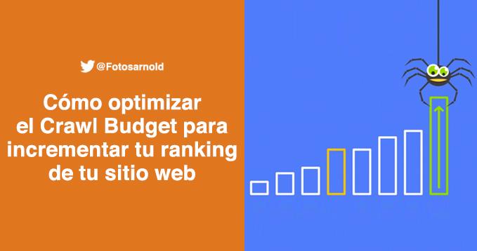 como optimizar crawl budget