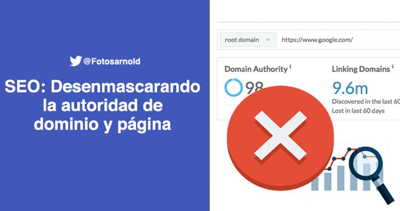 desenmascarando autoridad dominio pagina