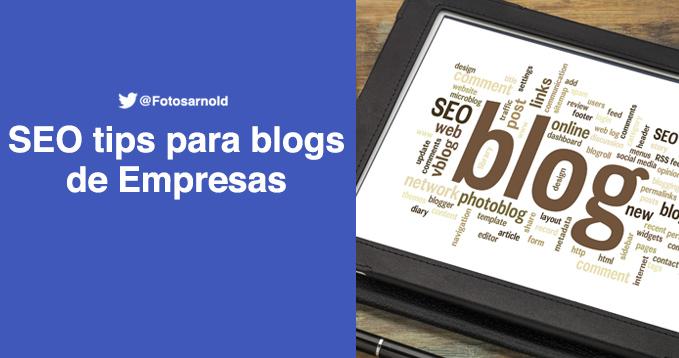 seo blog para empresas
