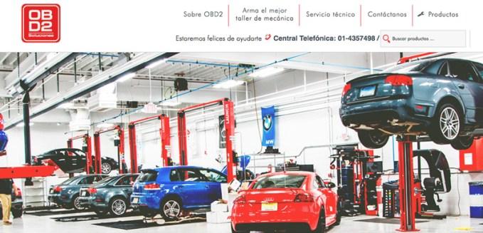 obd2 diseño web agencia manya peru