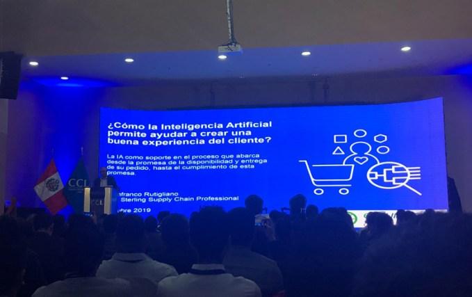 Gianfranco Rutigliano en el esummit ecommerce peru 2019