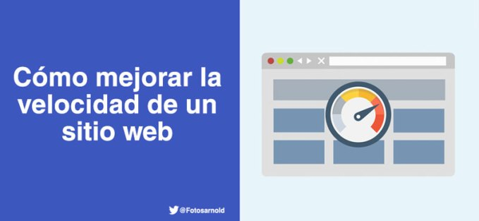 como mejorar velocidad carga sitio web