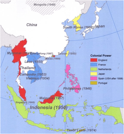 Map Of Asia 1950.Sea World Coloring Pages War 2 Map Asia Post War Ii Independence