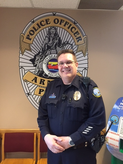 Officer John Palme – Arnold Police Department