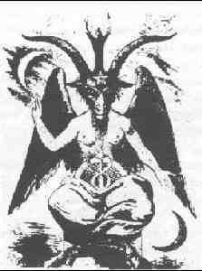 Dargestellt Wird Satan Bzw Der Teufel Oftmals Als Wesen Das Zur Halfte Mensch Zur Halfte Tier Ist